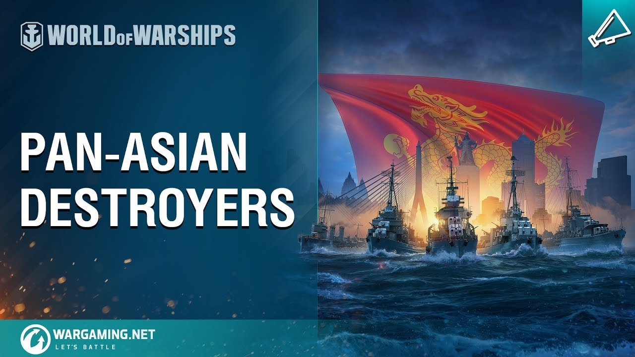 World of Warships – Pan-Asian Destroyers