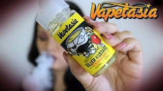 Vapetasia Killer Kustard Strawberry E liquid Review