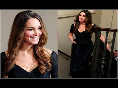 Kate Dons Glamorous Ball Gown For Charity Gala