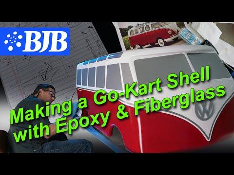 Epoxy/Fiberglass Tutorial | VW Microbus Electric Go-Kart Shell