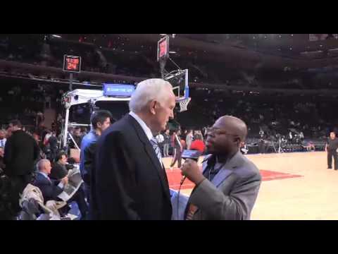 John Andariese on the New York Knicks, Love of tennis, Madison Square Garden