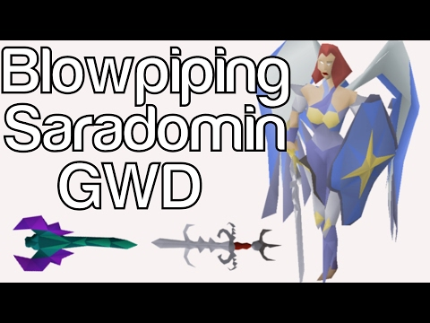 Blowpiping Saradomin GWD