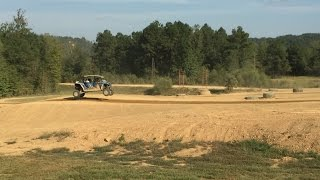 RZR XP4 1000 Jumping Stoney Lonesome Track
