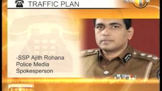 New traffic plan in effect in Colombo from today_Newsfirst