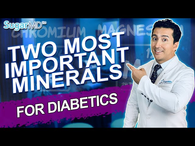 Take These 2 Most Ignored Minerals For Optimal Diabetes Control!