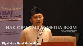Kiyai Idrus Ramli  Indonesia  - Seminar Antarabangsa - Manhaj Ahli Sunnah Wal Ja