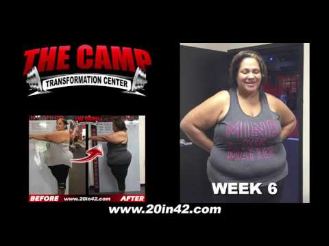Jacksonville FL Weight Loss Fitness 6 Week Challenge Results - Dalexia Sheddan