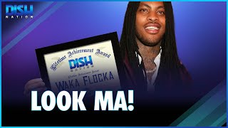 Waka Flocka Flame Receives Lifetime Achievement Award From Former President Trump