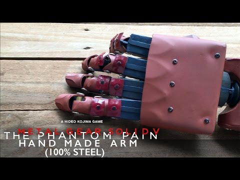 Metal Gear Solid V: The Phantom Pain Bionic Arm (Hand Made)
