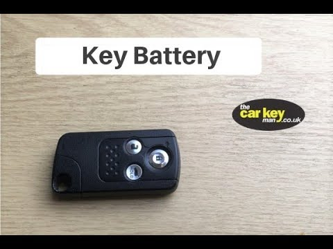 Honda CRV 2013 Smart Proximity Key Battery Change HOW TO