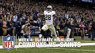 Drew Brees to C.J. Spiller for the WIN in OT (Week 4) | Ultimate Highlight | NFL