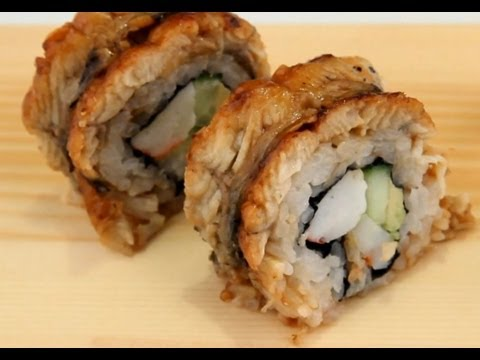 Fried Dragon Roll How To Make Sushi - Dr...