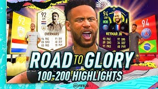 FIFA 20 ROAD TO GLORY - THE JOURNEY CONTINUES! (EP 100-200 HIGHLIGHTS)