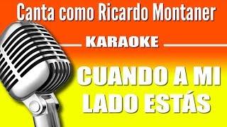 Ricardo Montaner - Cuando a mi Lado Estás - Karaoke Visión