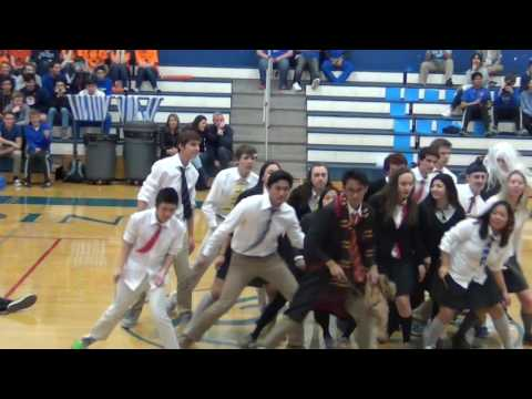 Peninsula Catholic High School Class 2017 Harry Potter Themed Dance for Spirit Week