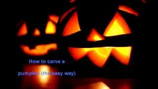 How to carve a pumpkin vine (the EASY way)