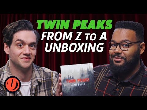 Unboxing The Twin Peaks: From Z To A Box Set