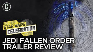 Star Wars Fallen Order Trailer Reaction & Review