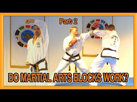 Do Martial Arts Blocks Work? | How To Make Taekwondo Blocks Effective Part 2