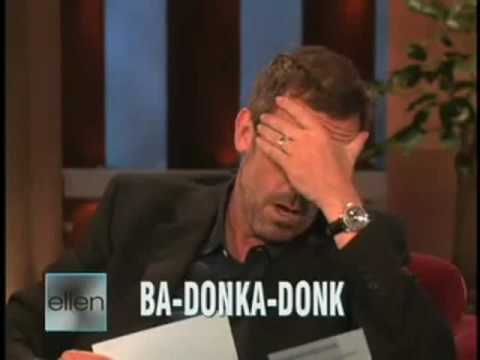 BRITISH ACCENT  AMERICAN ACCENT  Hugh LAURIE