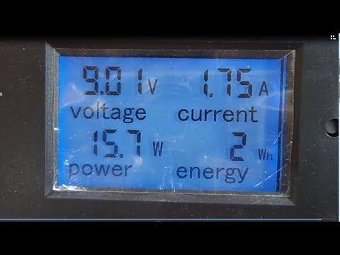 Monitor de corrente e tensão dc 100 a com shunt 50a banggood