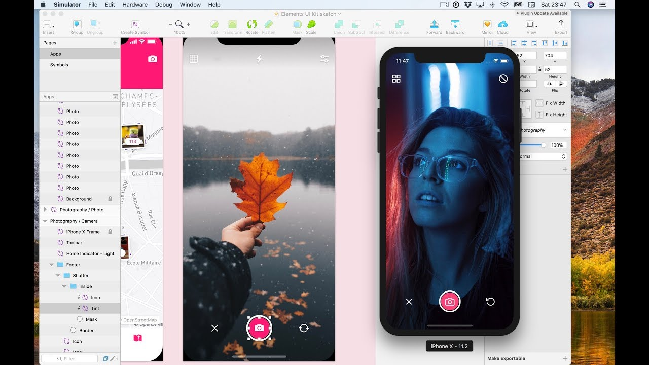 Using the Expo Camera - React Native Sketch Elements