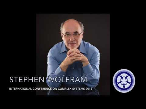 Stephen Wolfram at ICCS 2018