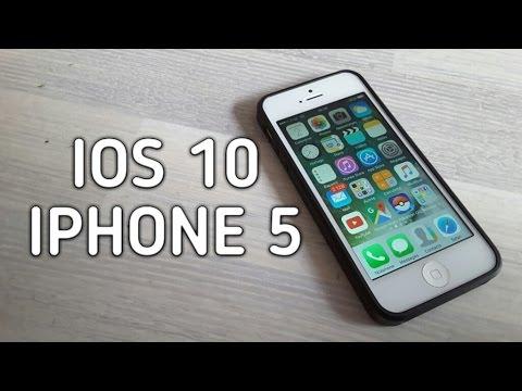 Découvrons iOS 10 sur l
