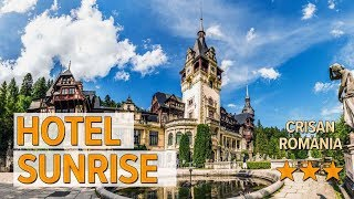Hotel Sunrise hotel review | Hotels in Crisan | Romanian Hotels