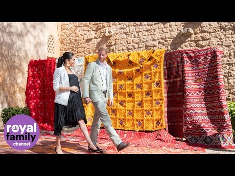 Best of The Duke and Duchess of Sussex in Morocco