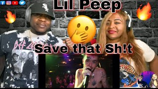 Our First Time Hearing Lil Peep - Save That Shit (Reaction)