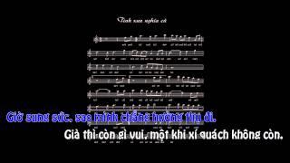 [Karaoke - Nhạc Chế] Tình Xưa Nghĩa Cũ