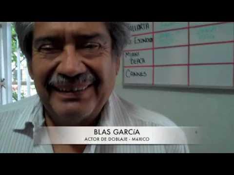 La Vida Cotidiana de un Actor de Doblaje-preventivo-don Blas Garcia
