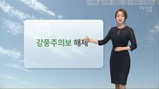 180411 홍지화 기상캐스터 TV조선 1080p60f