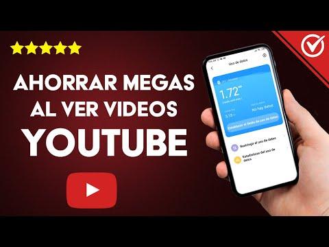Cómo Ahorrar Megas o Datos Móviles al ver Videos en YouTube en Android, iPhone o PC