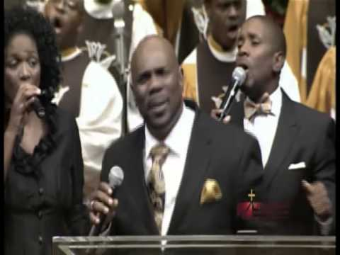 West Angeles Praise COGIC Lord I Just Want to Thank You w/Mike Bereal on Keyboard