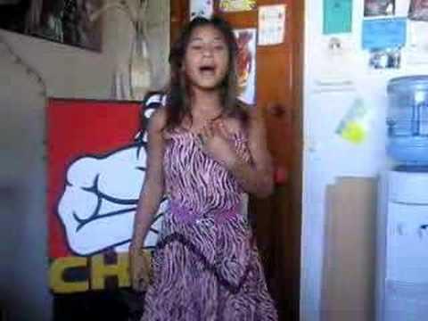 Girl Singing Listen