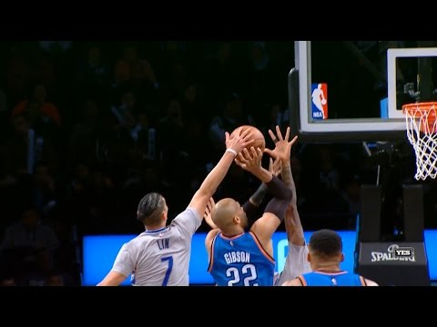 Jeremy Lin Highlights - 3/14/17 Thunder at Nets