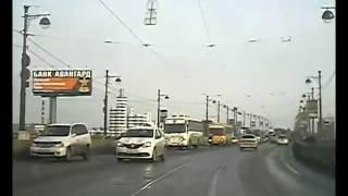 Погоня за таксистом в Иркутске