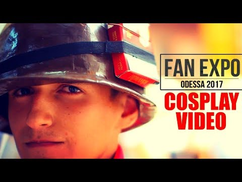 Fan Expo Odessa 2017 - Cosplay Video