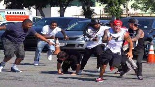 Gang Jump Prank Gone Wrong