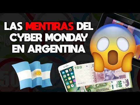 LA VERDAD DEL CYBER MONDAY EN ARGENTINA