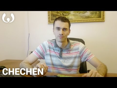WIKITONGUES: Movsar speaking Chechen