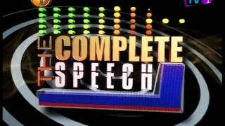Complete Speech  28th January 2016
