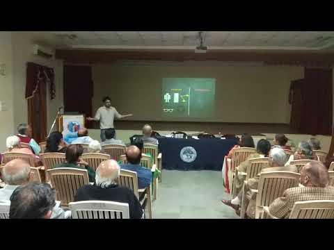 Karthik talk on ai at rotary club Pune