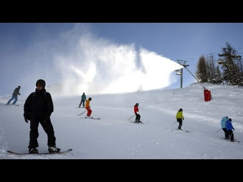 How ski resorts combat climate change