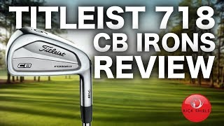 NEW TITLEIST CB 718 IRONS REVIEW