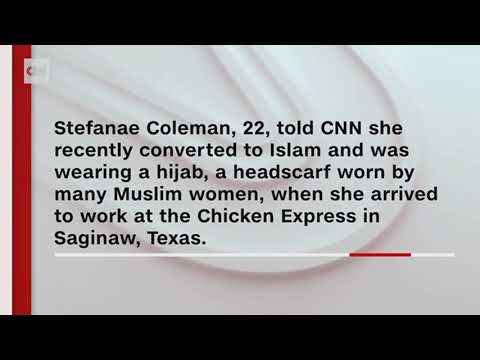 DC -  Restaurant Employee Sent Home For Refusing To Remove Hijab