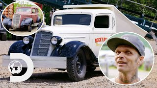 Turning This 1930s Oldsmobile Into A Badass Dump Truck | Bad Chad Customs