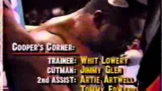 smokin bert cooper vs michael moorer for wbo heavyweight championship